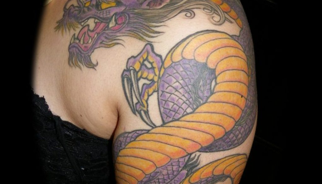 Dragon Tattoo Tauranga New Zealand