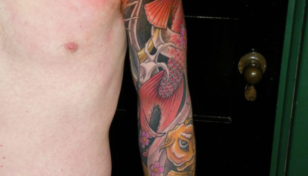 Koi Dragon Tattoo New Zealand
