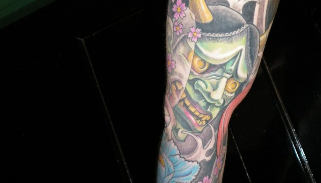 hanya Mask tattoo New Zealand