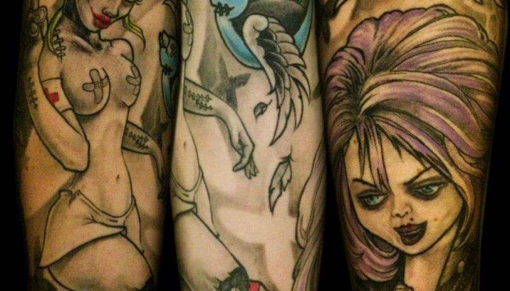 Chuckies bride tattoo