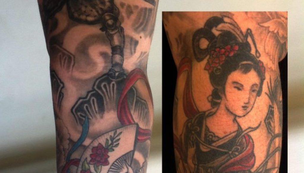 geisha tattoo Tauranga New Zealand
