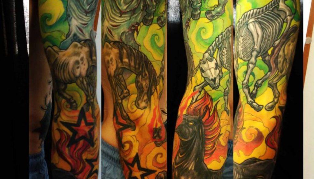 apocalypse tattoo Tauranga New Zealand