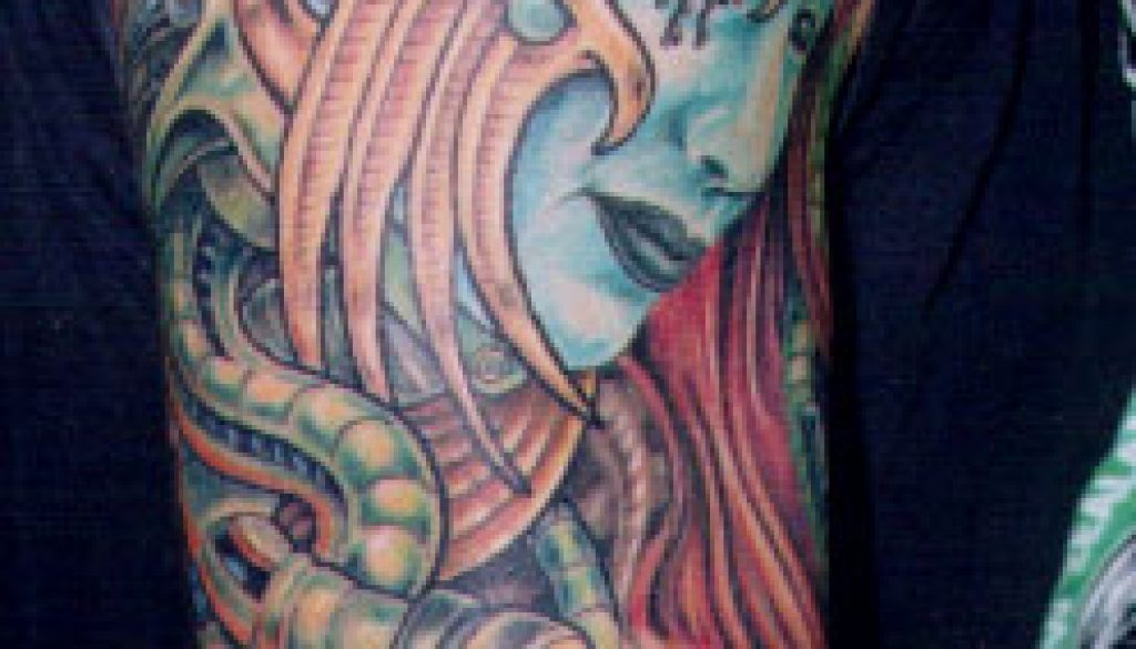 bio mech tattoo Tauranga New Zealand