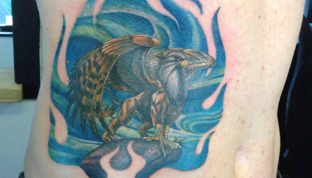 griffen tattoo Tauranga New Zealand