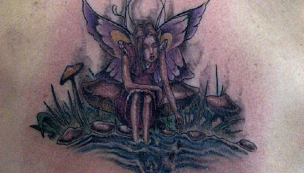 pond farie tattoo